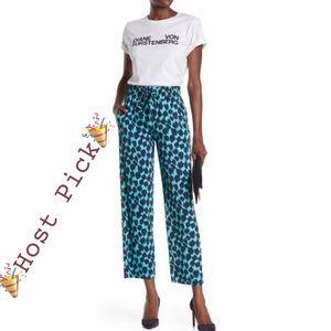 Diane von Furstenberg Lulu Print Pants Size Small